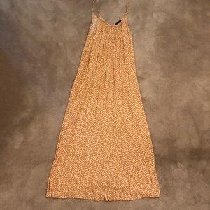 Forever 21 Yellow Summer Maxi dress in medium